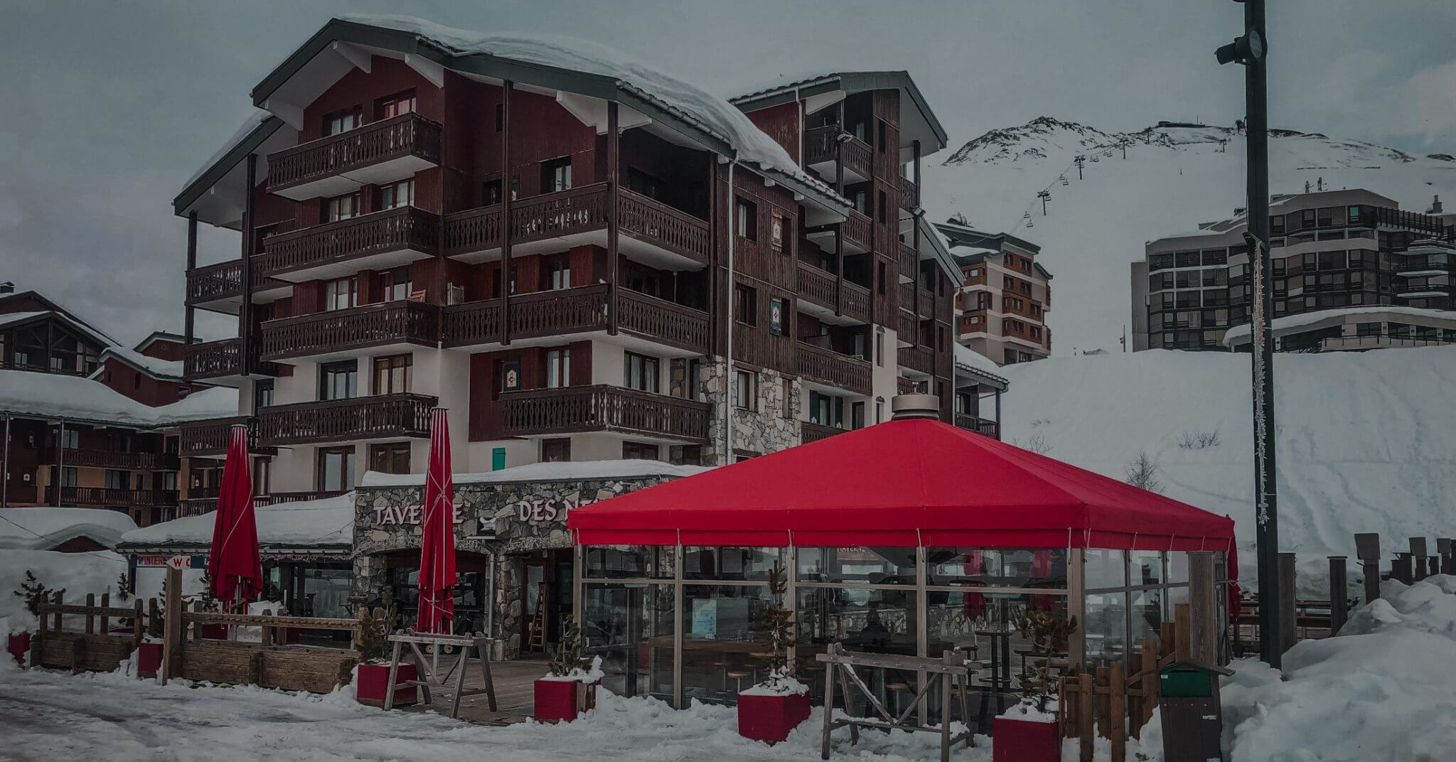 Bar Le Bivouak à Tignes